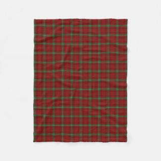 Scottish Clan Morrison Classic Tartan Fleece Blanket