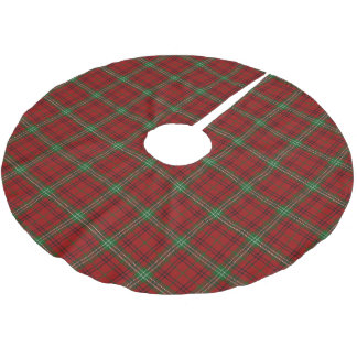 Scottish Clan Morrison Tartan Brushed Polyester Tree Skirt