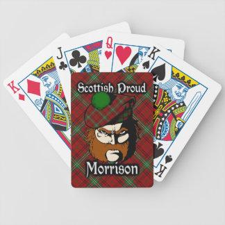 Scottish Clan Morrison Tartan Deck Bicycle Playing Cards