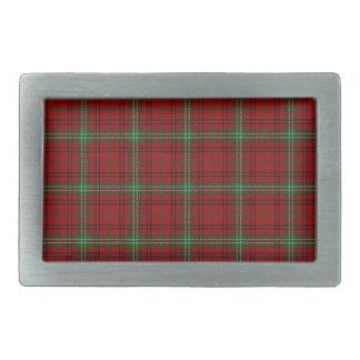 Scottish Clan Morrison Tartan Rectangular Belt Buckle