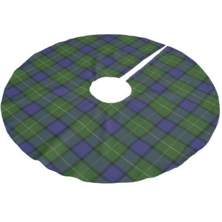 Scottish Clan Muir Tartan Brushed Polyester Tree Skirt