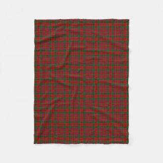 Scottish Clan Munro Classic Tartan Fleece Blanket