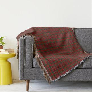 Scottish Clan Munro Munroe Monroe Tartan Throw Blanket