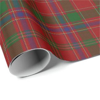 Scottish Clan Munro Munroe Monroe Tartan Wrapping Paper