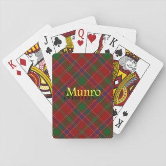 Scottish Clan Munro Poker Deck