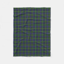 Scottish Clan Murray Classic Tartan Fleece Blanket