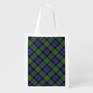Scottish Clan Murray Family Tartan Grocery Bag