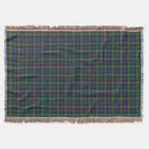 Scottish Clan Murray Tartan Throw