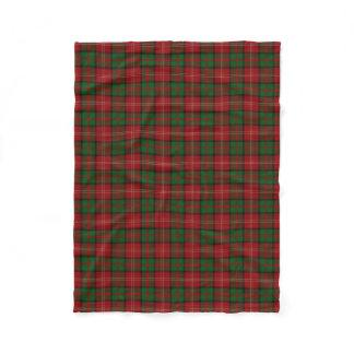 Scottish Clan Nisbet Nesbitt Classic Tartan Fleece Blanket