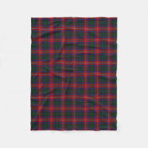 Scottish Clan Rattray Classic Tartan Fleece Blanket