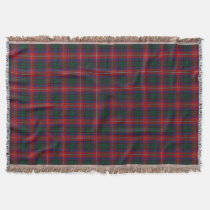 Scottish Clan Rattray Tartan Throw Blanket