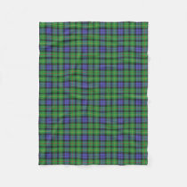 Scottish Clan Rollo Classic Tartan Fleece Blanket
