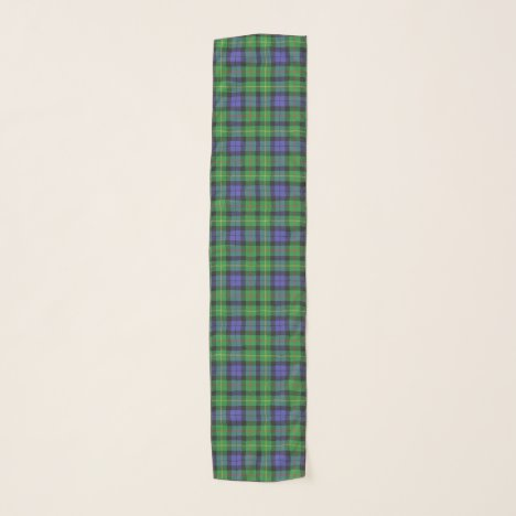 Scottish Clan Rollo Tartan Plaid Scarf