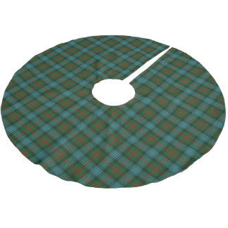Scottish Clan Ross Hunting Tartan Brushed Polyester Tree Skirt