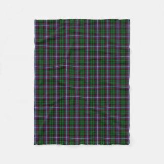 Scottish Clan Russell Classic Tartan Fleece Blanket