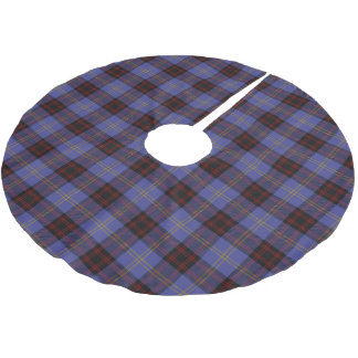 Scottish Clan Rutherford Tartan Brushed Polyester Tree Skirt