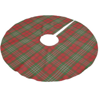 Scottish Clan Scott Tartan Brushed Polyester Tree Skirt