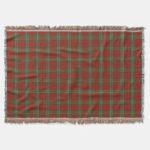 Scottish Clan Scott Tartan Throw