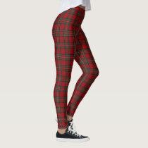 Scottish Clan Stewart Red Tartan Leggings