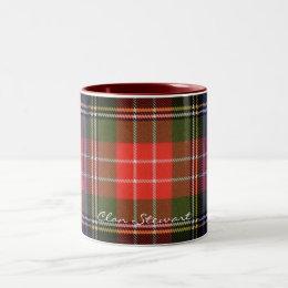 Scottish Clan Stewart Tartan Designer Mugs