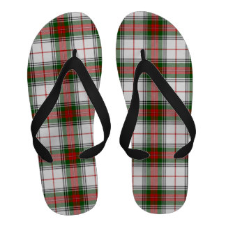 Scottish Clan Stewart Tartan Flip Flops