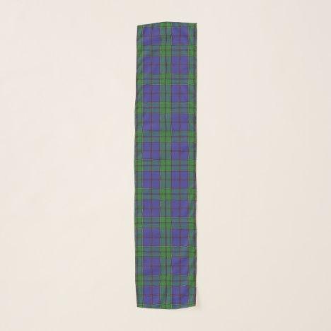 Scottish Clan Strachan Tartan Plaid Scarf