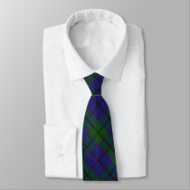 Scottish Clan Strachan Tartan Plaid Tie