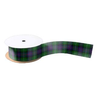 Scottish Clan Sutherland Classic Tartan Satin Ribbon
