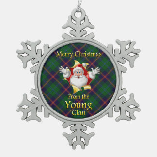 Scottish Clan Young Christmas Ornament