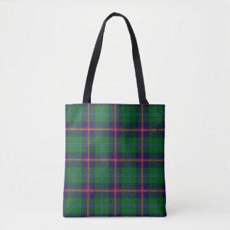 Scottish Clan Young Tartan Plaid Tote Bag