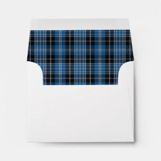 Scottish Clark Tartan A2 Envelope Version 3