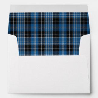 Scottish Clark Tartan A7 Envelope Version 3