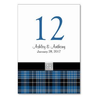 Scottish Clark Tartan Wedding Card