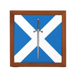 Scottish Claymore Pencil Holder