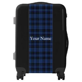 Scottish Clergy Tartan Customize Your Name Luggage