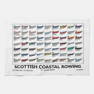 Scottish Coastal Rowing Skiffs - First 5 Years Towel