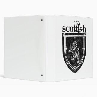 scottish coat of arms 3 ring binder