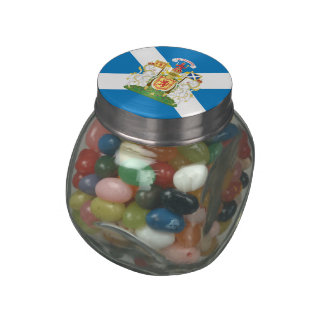 Scottish Coat of Arms Jelly Belly Candy Jars