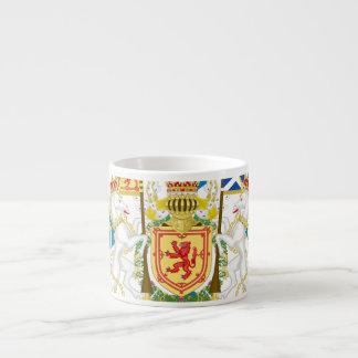 Scottish Coat of Arms Espresso Cup