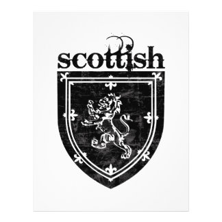 scottish coat of arms full color flyer