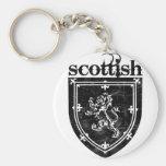 scottish coat of arms keychain
