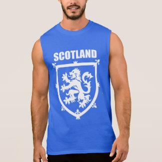 Scottish Coat of Arms Rampant Lion Sleeveless Tee