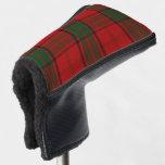 Scottish Colors Clan Maxwell Tartan Plaid Golf Head Cover