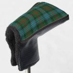 Scottish Colors Clan Ross Hunting Tartan Plaid Golf Head Cover