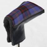 Scottish Colors Clan Rutherford Tartan Plaid Golf Head Cover