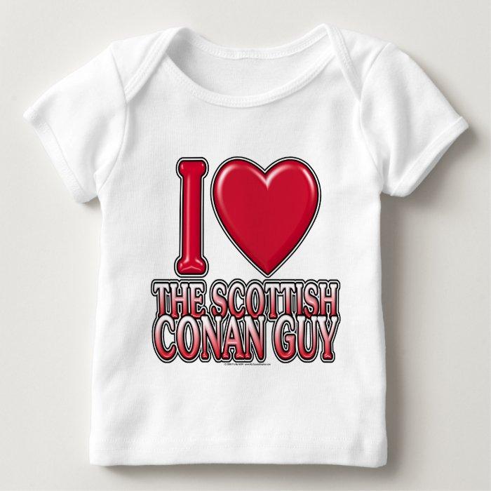 Scottish Conan Guy Baby T-Shirt