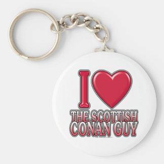 Scottish Conan Guy Keychain