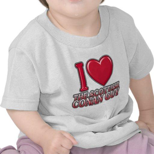 Scottish Conan Guy Tshirts