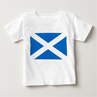 Scottish Cross Scotland Colors Baby T-Shirt