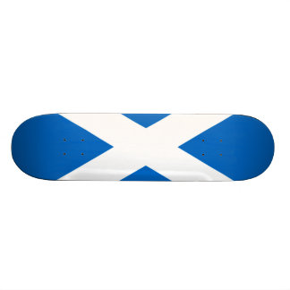 Scottish Cross Scotland Colors Skateboard